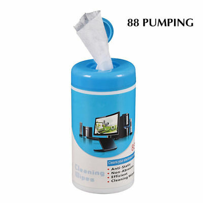 88x Soft Laptop Computer Monitor LCD TV Phone Screen Lens Glass Cleaner Wipe AU