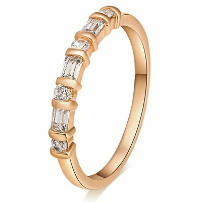 Ultra Thin Zircon Lady Engagement Rings for Women Wedding Rings Jewelry Gifts MB