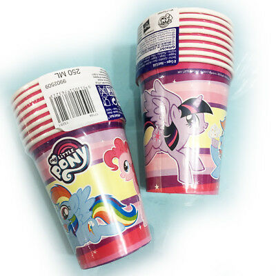 Little Pony Bicchieri 250ml 8pz Amscan