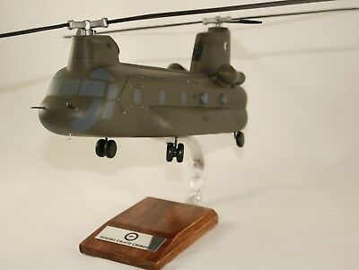 Adf Boeing Chinook Ch47D - Massive 1:72 Scale Precision Handcrafted Desk Model