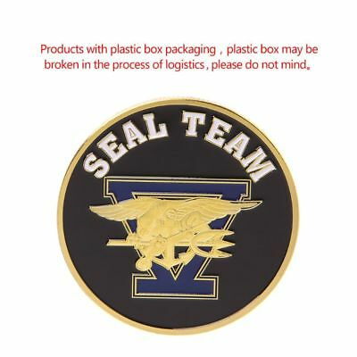 Commemorative Coin Seal Team United States Navy Collection Souvenir Arts Gifts
