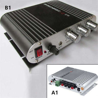 200W12V Home HiFi Amplifier Booster Radio MP3/MP4/iPod Stereo for Car Subwoofer