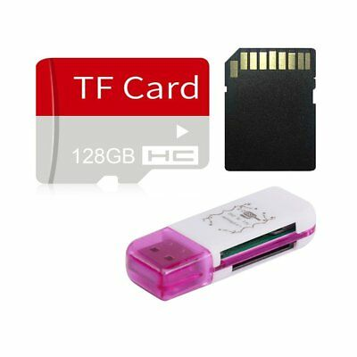 128GB High Speed Micro SD TF Flash Memory Card & SD Adapter for Cam Phone LR5