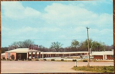 1950s Chrome Postcard James K Polk Motel Columbia Tennessee Tn