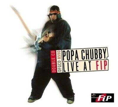 Popa Chubby - Live At Fip 2 Cd Neuf