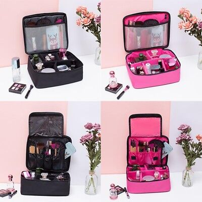 Professional Make-Up Bags Case Box Cosmetic Nail Tech Storage Beauty Bag New