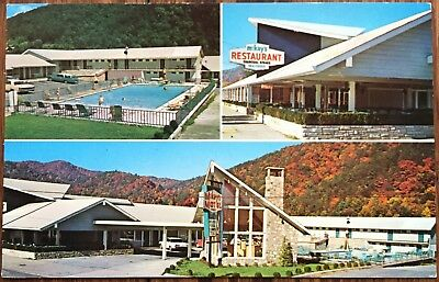 Gatlinburg Tn Parkway Restaurant Interior Postcard 375 Picclick