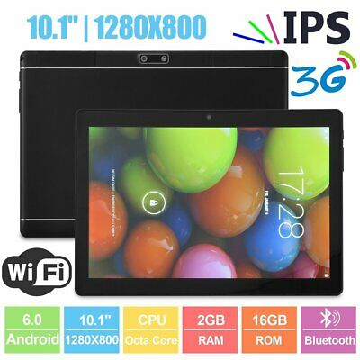 Tablet 10,1 Pollici 4G Octa Core Gps 2Gb Ram 32Gb Rom Android 7 Dual Sim Ips Tf