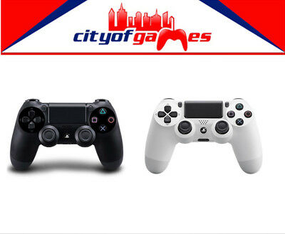 Genuine PS4 DualShock 4 Black & White Wireless Controller Bundle New In Stock