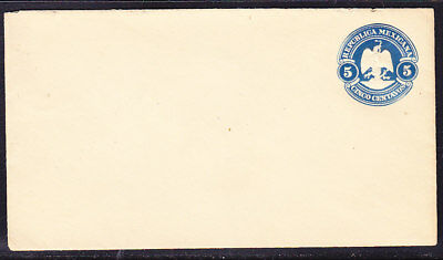 Mexico 1900 Embossed 5c Blue Letter Mint