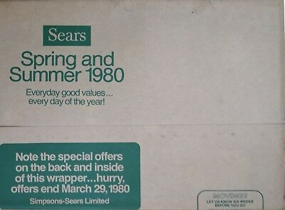 SEARS SPRING AND SUMMER 1980 880 pages EX/NRMINT condition
