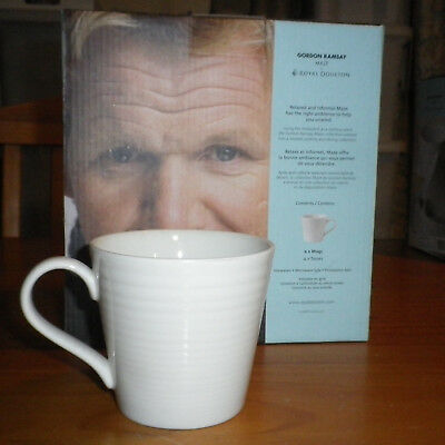 Royal Doulton Gordon Ramsay MAZE Coffee Mugs Set of 4