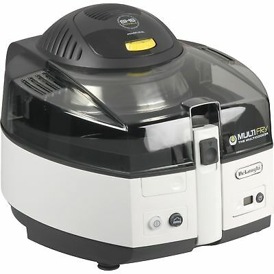 DeLonghi MultiFry FH1163, Fritteuse, silber