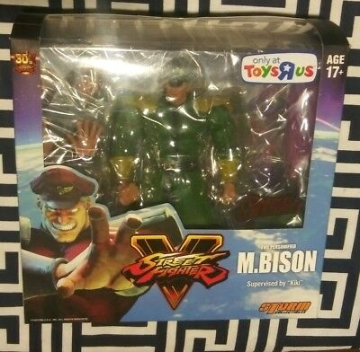 Storm Collectibles Street Fighter V M. Bison Special Edition 7 Inch Figure NEW