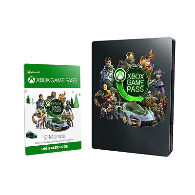 Xbox Game Pass 12 Monate (Steelbook)