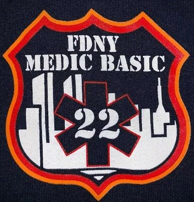 FDNY NYC Fire Department New York EMS T-Shirt New