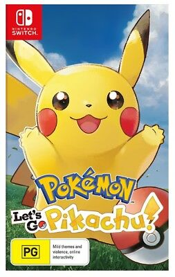 Pokemon Let's Go, Pikachu! - Nintendo Switch
