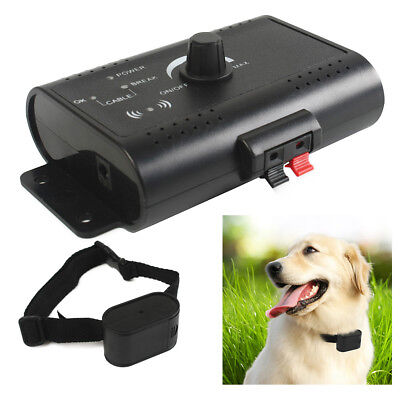 Pet Dog Electronic Hidden Fence Training System In-ground Waterproof Collar AU