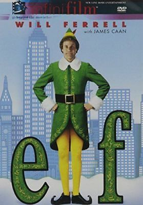 Elf (Infinifilm Edition) **Will Ferrell** [DVD] (2 Disc Set) Very Good Condition