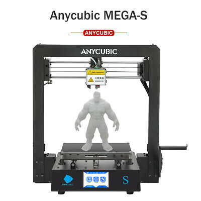 """AU Stock ANYCUBIC Full Metal I3 Mega 3D Printer with Ultrabase Heatbed 3.5"""" TFT"""