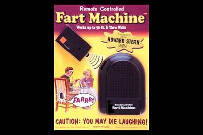 T.J. Wisemen Remote Controlled Fart Machine No. 2 - Single Pack