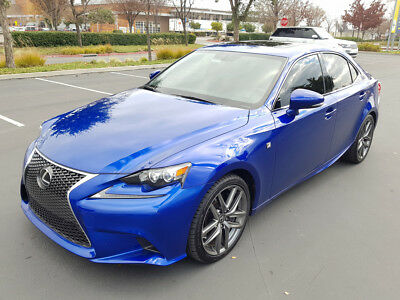 2016 Lexus IS 350 F Sport Sedan 4-Door 2016 LEXUS IS 350 F SPORT, ONLY 28K MI, DON'T MISS!