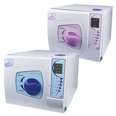 New 18L Dental Medical Surgical Vacuum Steam Autoclave Sterilizer With Printer