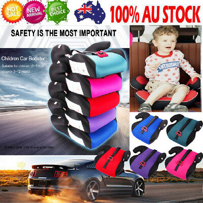 Car Soft Booster Seat Safety Chair Cushion Pad For Kid Children Toddler Sturdy