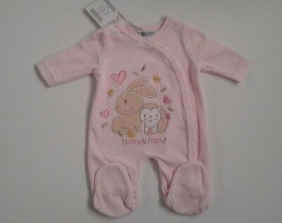 Premature preemie  tiny baby girls clothes romper 5 lbs 7.5 lbs 0-9 months Bnwt