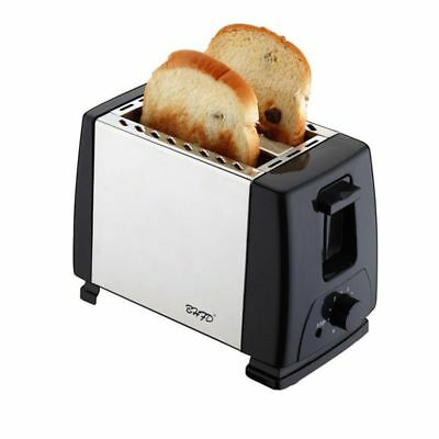 Electric Classic Toaster Electric Kitchen Stainless Steel Wide Slot Toaster New