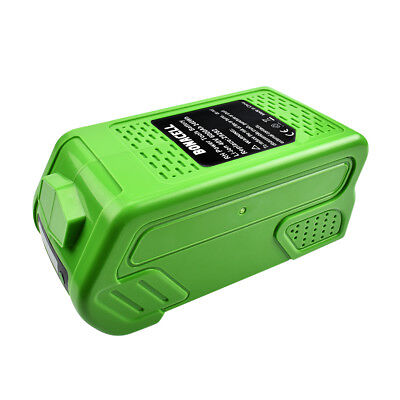 New 6000mAh Li-ion 40V Replacement Battery for Greenworks G-Max 29462 MP