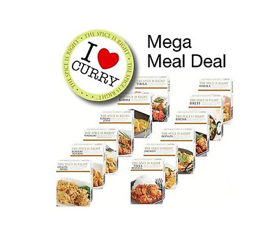 Mega Meal Deal Curry Spice Kits +1 million Sold+