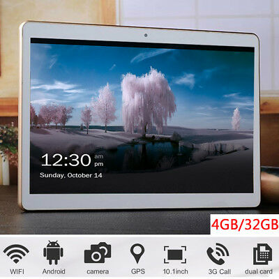 """10"""" Tablette 3G Wifi OCTA CORE 4GB + 32GB ANDROID 6 DUAL SIM Or"""
