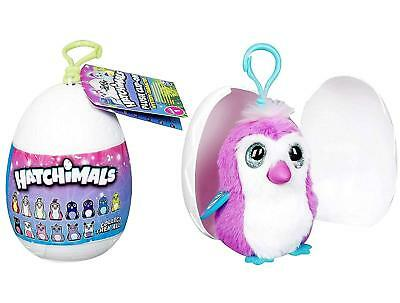 Hatchimals Glittering Fabula Forest Mini Mystery Plush Clip New in Sealed Egg