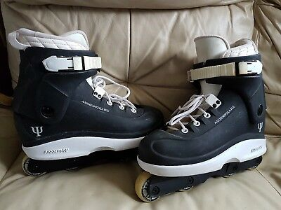 Alchemy Pure Air Aggressive In Line Skates  Lovely Condition Adult Size 8