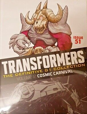 Transformers  Def.  G1 Collection = # 51 = Vol 12 = Cosmic Carnival
