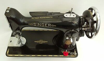 Singer 201k Heavy Duty Semi Industrial Sewing Machine ideal for Leather, Denim