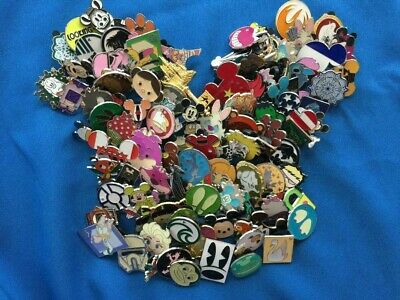 LOT OF 50 DISNEY TRADING Pins FREE Lanyard USA SELLER -Pick boy or girl Lanyard