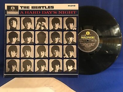 The Beatles Hard Day Night Pmc 1230 Matrix 3/3 Orig Uk Close To Mint