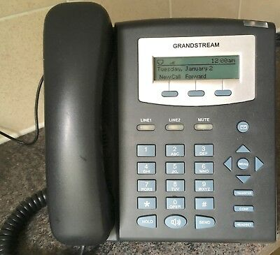 GRANDSTREAM GPX1200 IP Phone SIP VoIP IP 2-line Phone