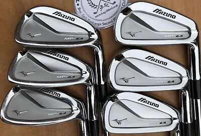 48d474d02496 MIZUNO MP64 IRONS - 3 - PW - DYNAMIC GOLD X100 *Tour Issue* SHAFTS ...