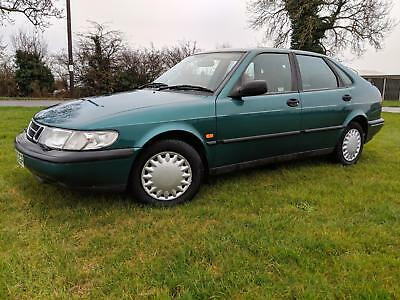1995 SAAB 900 2.0i S Manual AC 25000 miles only, collector's quality