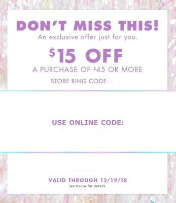 4 Justice Style Perks Coupons - $15 Off $45+ In Store & Online 12/19 $120+ Value