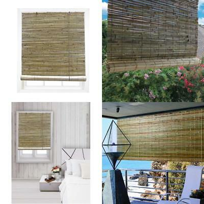 Laguna Roll Up Bamboo Blind In Natural Finish Id 376530