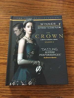 Crown, The - Complete Season 2 2018 Netflix FYC DVD RARE EMMY PROMO set