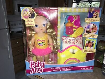 2014 Baby Alive Darci's Dance Class Doll Set