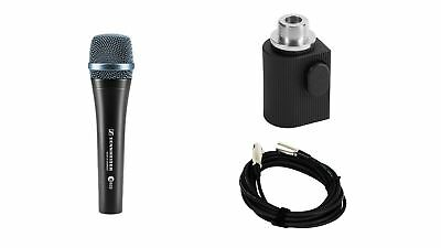 Sennheiser e935 Microphone w/ On-Stage Quick Release Adapter & XLR Cable Bundle