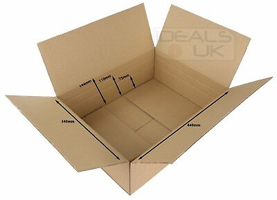 Maximum Size New Royal Mail Small Parcel Boxes (450x350x160mm) Cardboard Postal