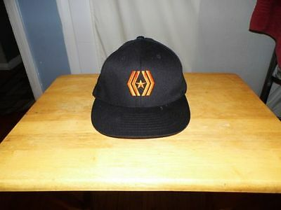 Men's Reverence Flexfit Black Cotton Stretchfit Baseball Hat Size M
