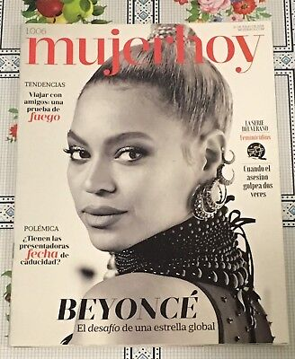 Beyonce Mujer Hoy Spain 2018  Magazine Cover